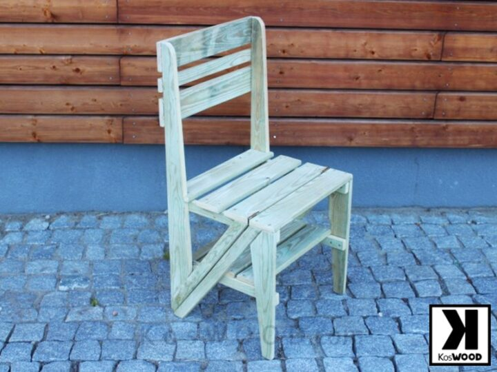 Krzesło drabinka